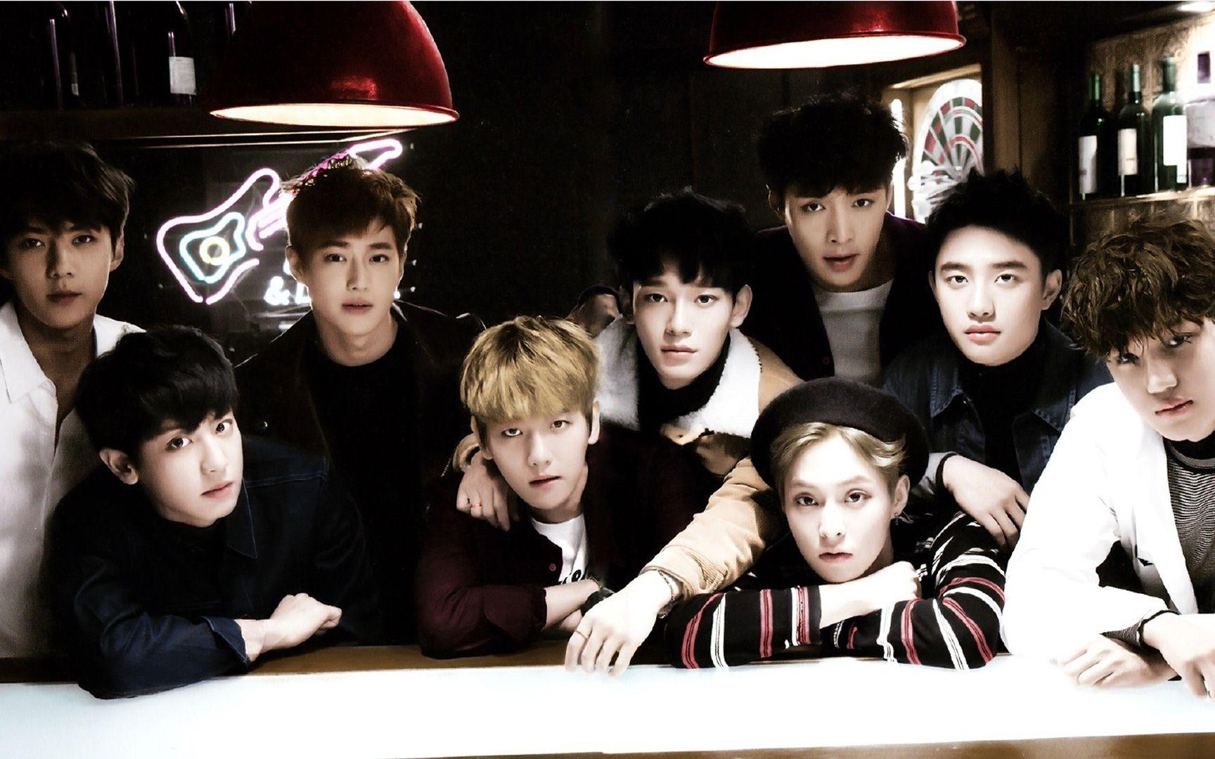 exo照片9人高清照片_exo图片全体照9人