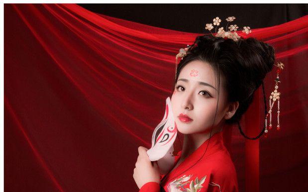 【日常】花絮 汉服古风古装妆容发型 时尚美妆彩妆 教程——来自日常图片