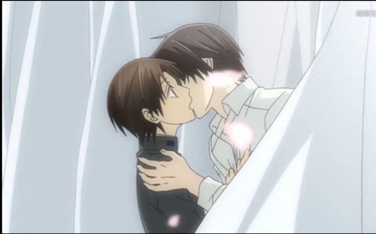 耽美动漫【世界第一初恋】【super lovers】【纯情罗曼史】kiss高能混剪 part1