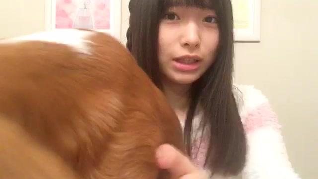 福岡 聖菜(AKB48 チームB) (2018年01月15日19時02分16秒) SHOWROOM