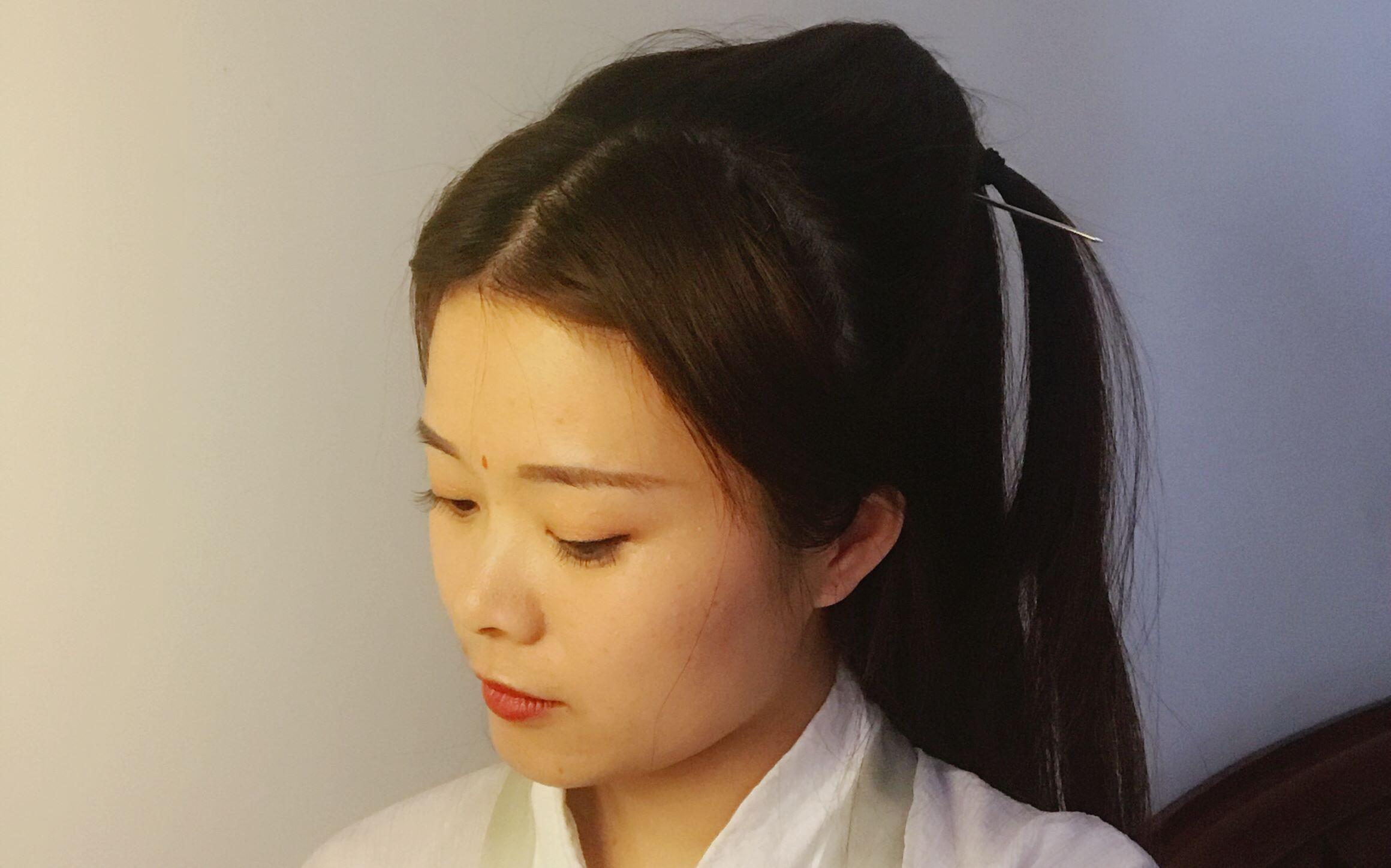汉服发型之白浅图片
