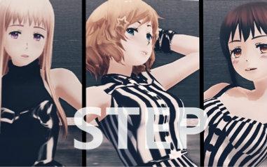 娘的黑bi_【aph/mmd】黑三角娘的step