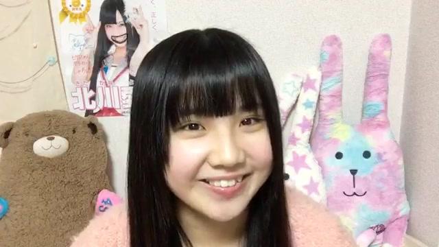 北川 愛乃(SKE48 チームS) (2018年01月16日21時42分21秒) SHOWROOM