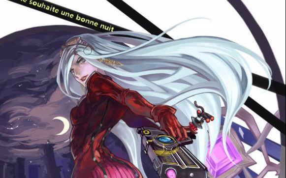 【猎天使魔女】hard难度四枪流两伤贞德战,这游戏怎么