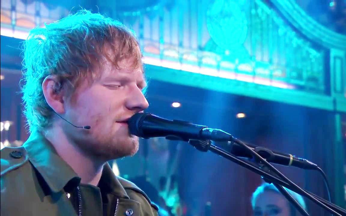 【Live】Ed Sheeran最新荷兰电视节目表演三首新单