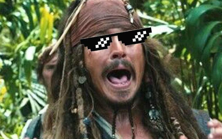 《抖脚向》吔屎了 加勒比海盗图片