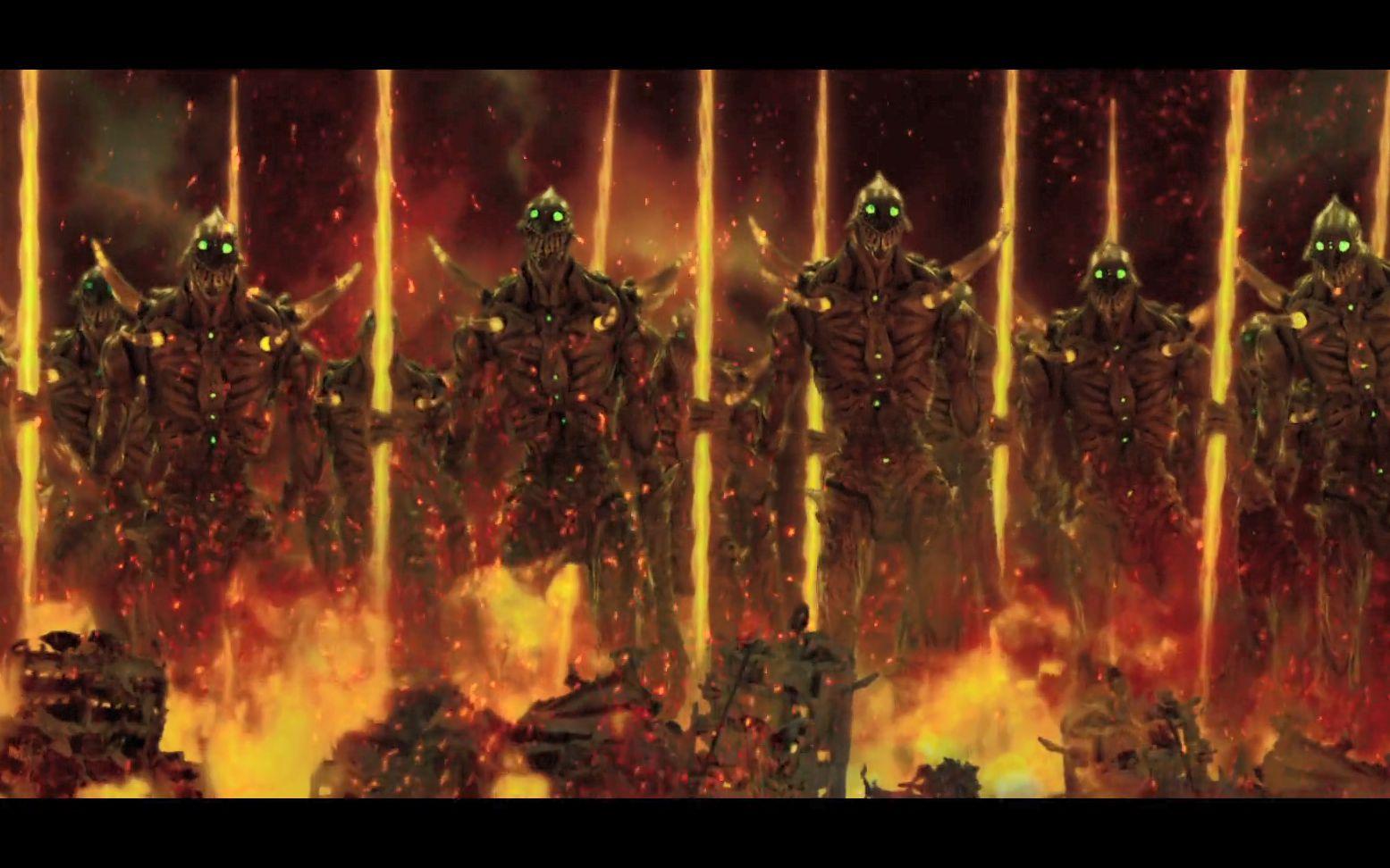 特效震撼!宫崎骏科幻短片《巨神兵在东京出现》