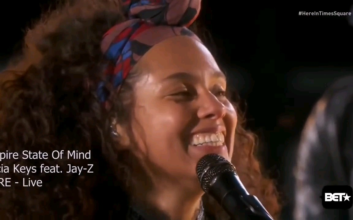 Alicia Keys and Jay-z:Empire State of Mind