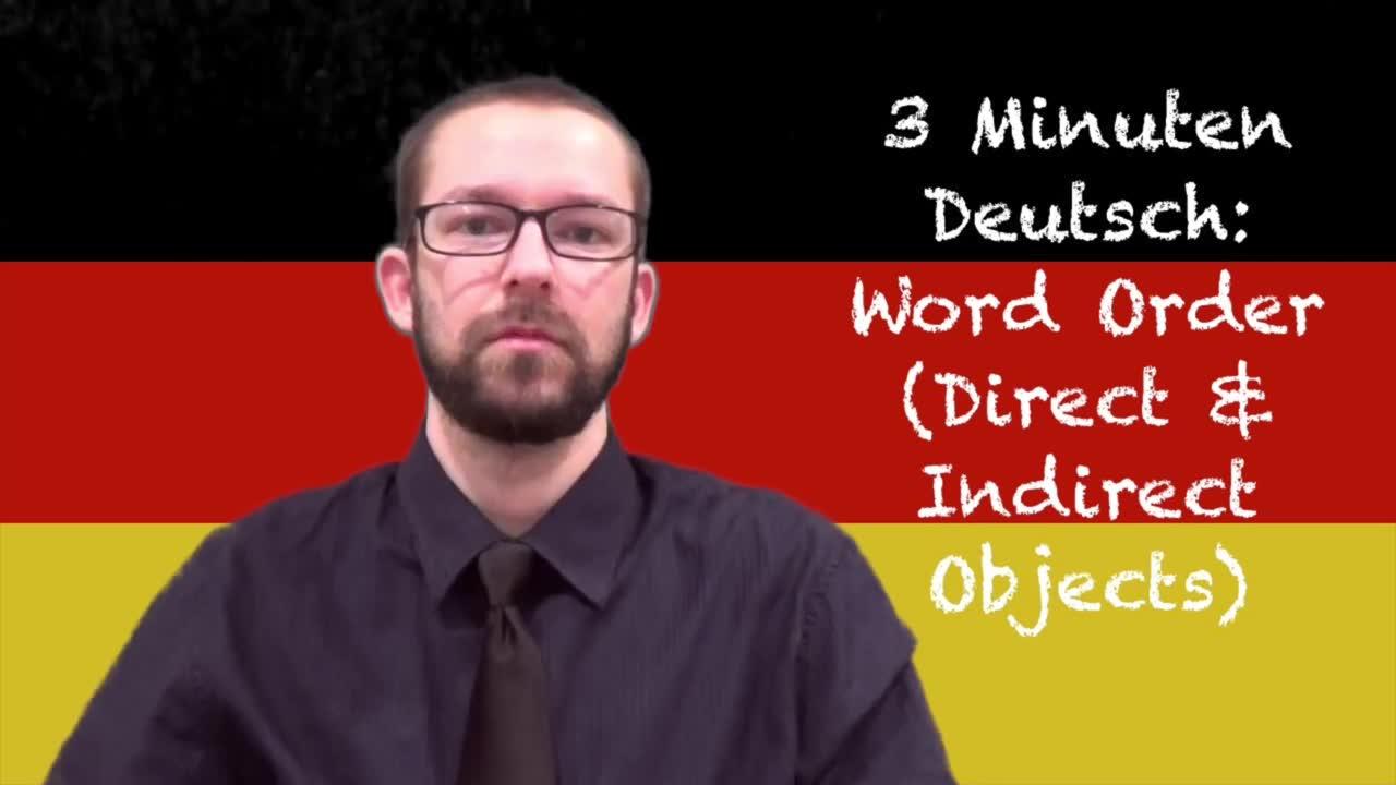【德语学习/英语生肉】三分钟德语课程【69P合集】