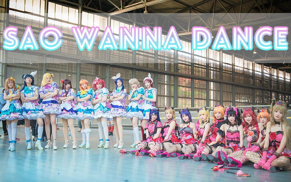 【SAO wanna dance】2017云南YCG漫展COSPLAY大赛LOVELIVE!现场比赛录制(3)