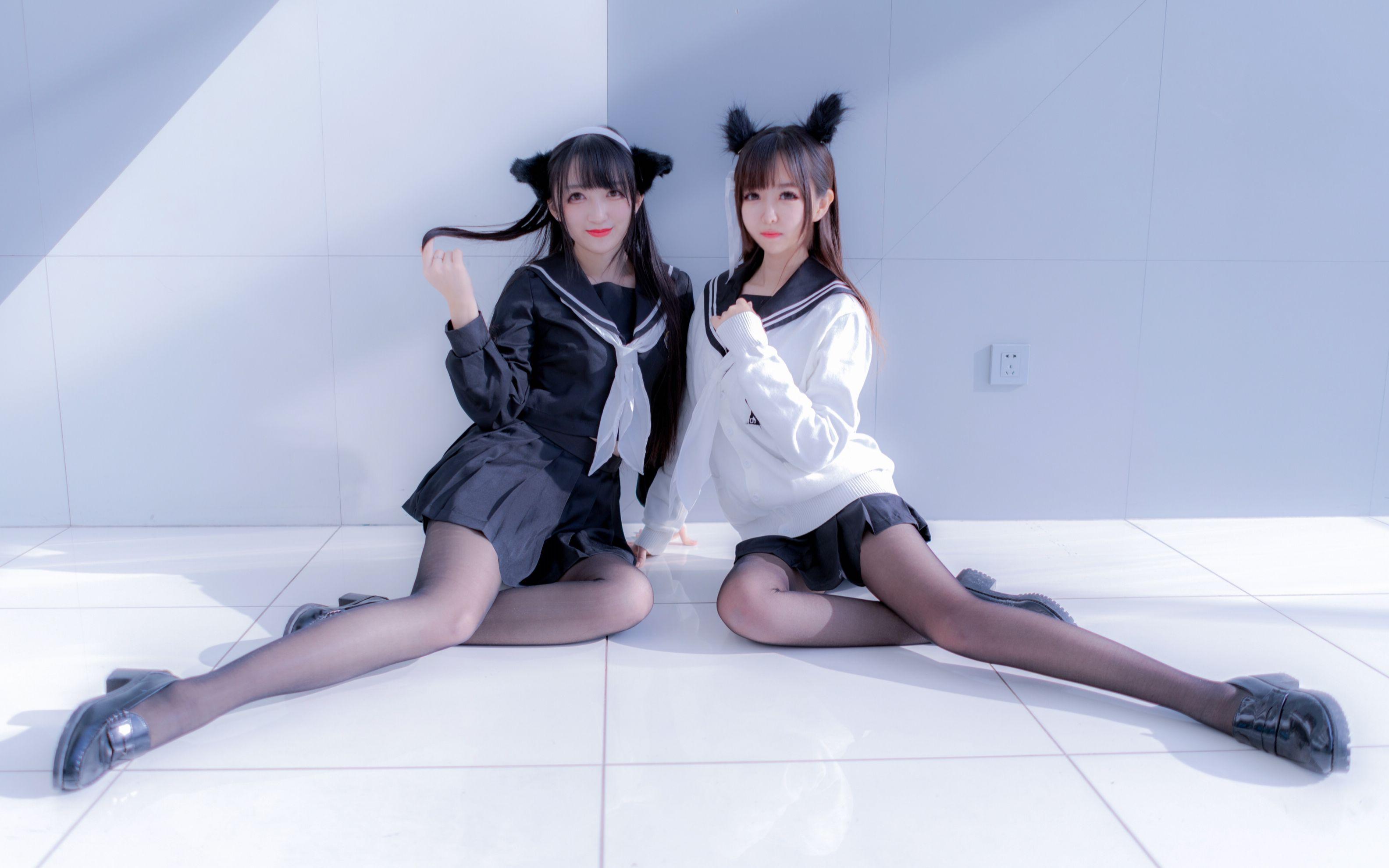 【西瓜新&白依】兔子舞 【结尾诶嘿嘿嘿~】