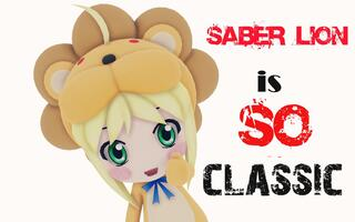 【MMD】saber lion is so classic