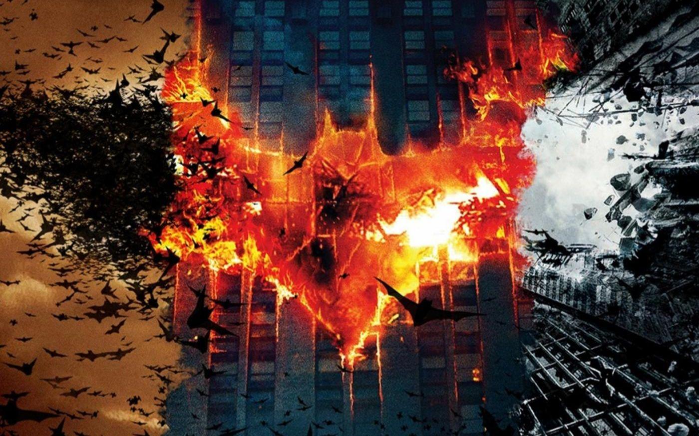 【蝙蝠侠/燃向/混剪】黑暗骑士三部曲超燃混剪