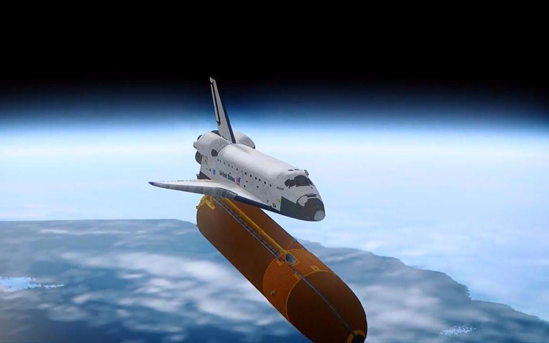 航天飞机_坎巴拉太空计划lovelyfun_ksp视频