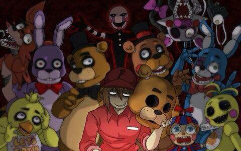 【foxy】玩具熊的五夜后宫1(第3·4夜)