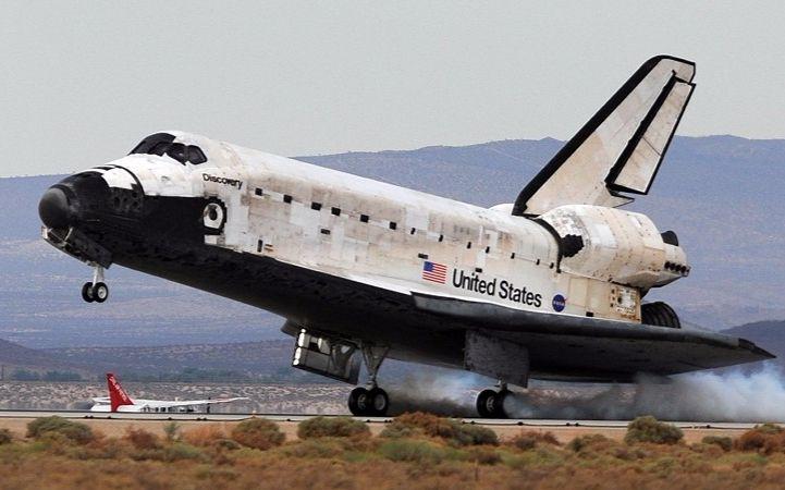 珍贵影像——美国发现号航天飞机返回地球全过程
