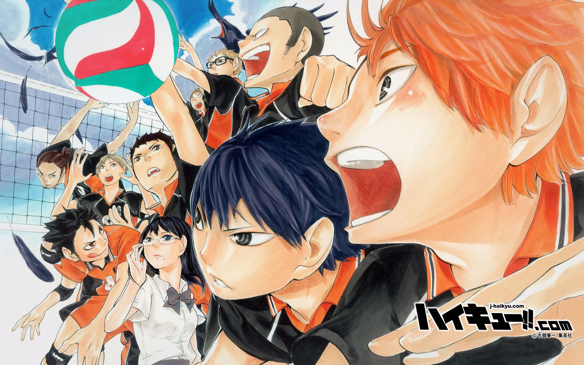 top 10 strongest players in haikyuu(排球少年)