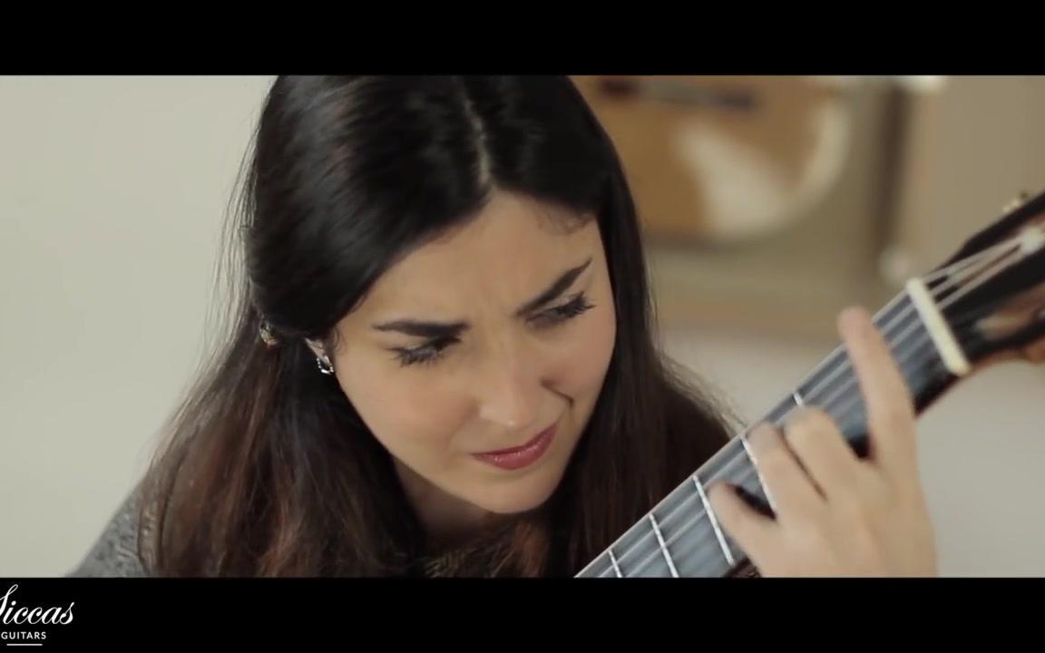 Andrea González Caballero plays Prelude BWV 1006a J. S. Bach