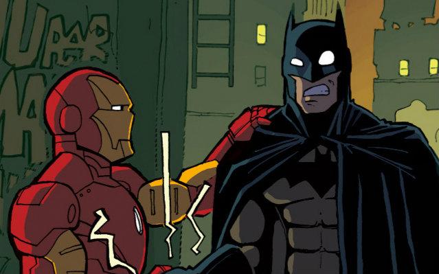 【蝙蝠侠/钢铁侠】土豪谈起恋爱不仅扔钱还撒糖(比心图片