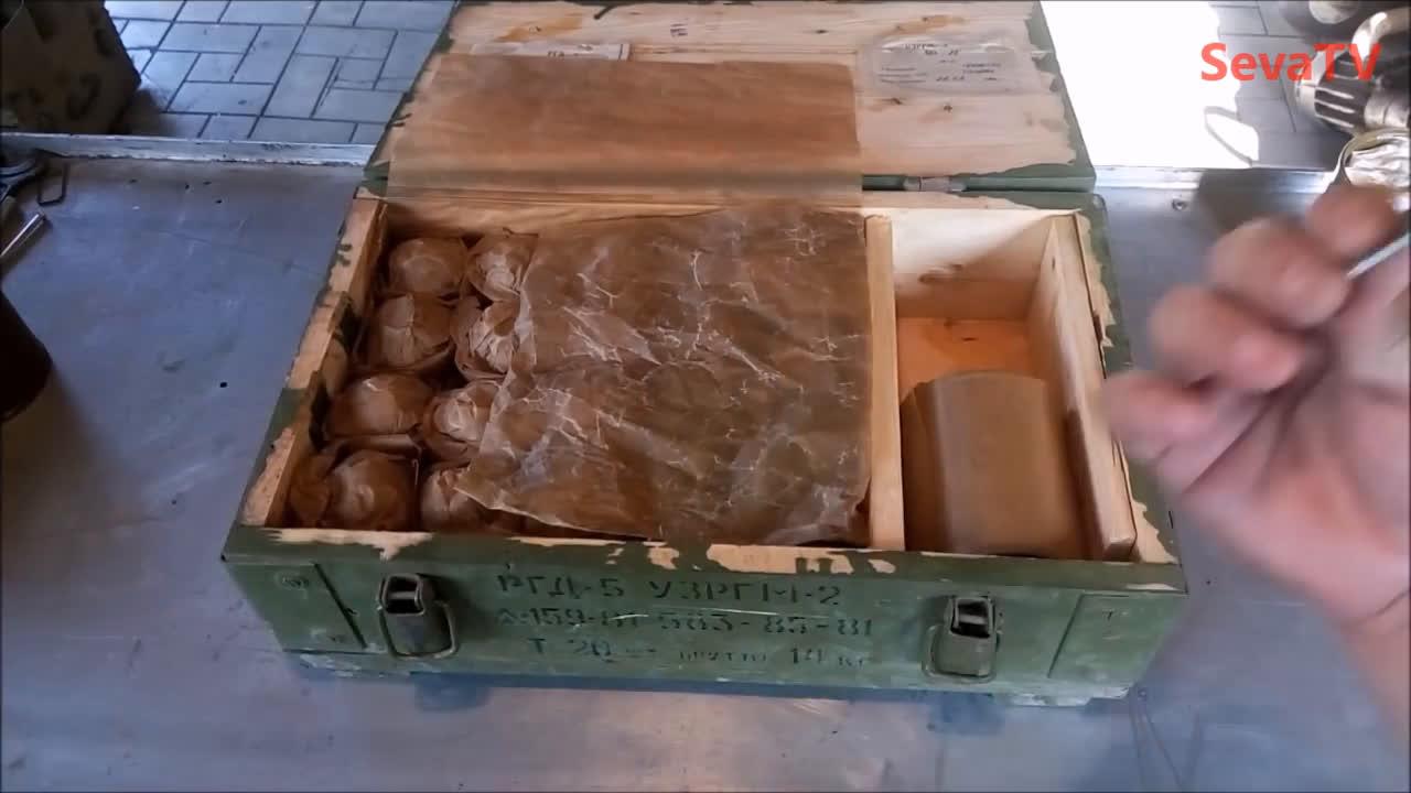 苏联rgd5手雷开箱