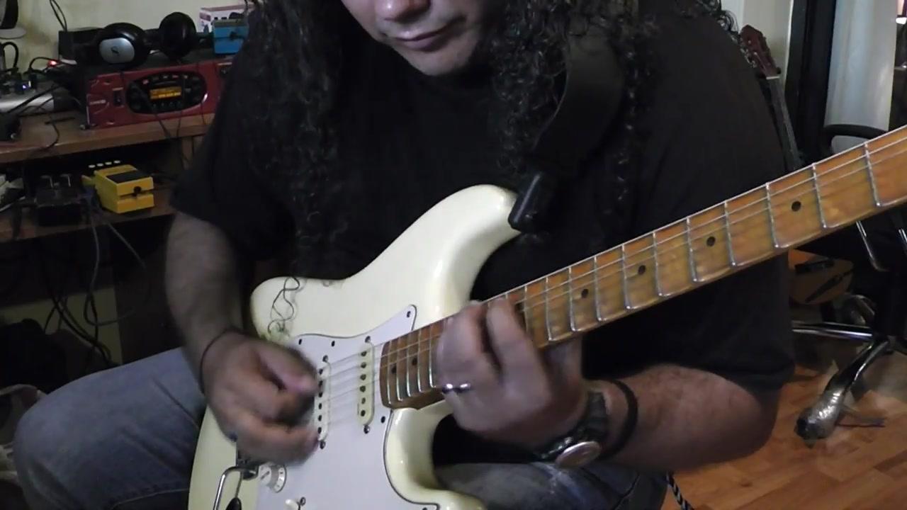 【电吉他】速弹大帝panos arvanitis 超好听旋律即兴yngwie j