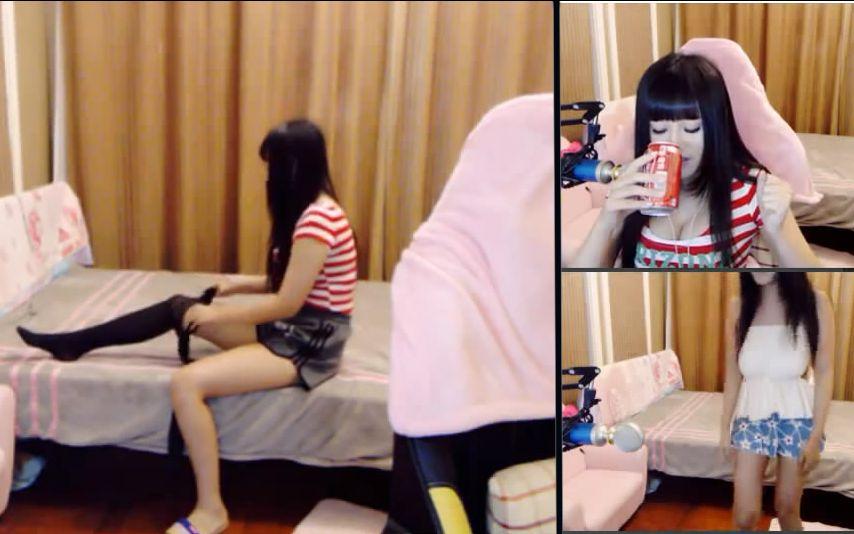 虎牙陆雪琪的照片_7.8-7.9陆雪琪被观众惩罚穿丝袜尬舞