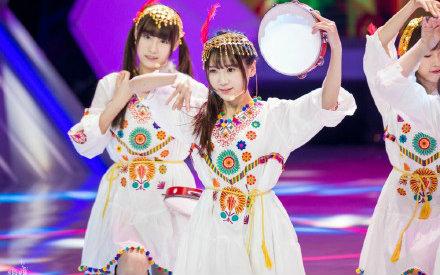 【snh48/国民美少女】h队羊肉串味儿《打起手鼓唱起歌