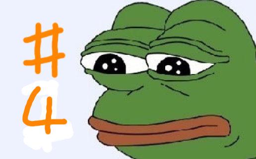 疯狂的青蛙表情包图片