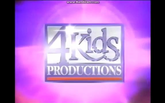美国4kids动画公司的历代logo演变(1995-2012)