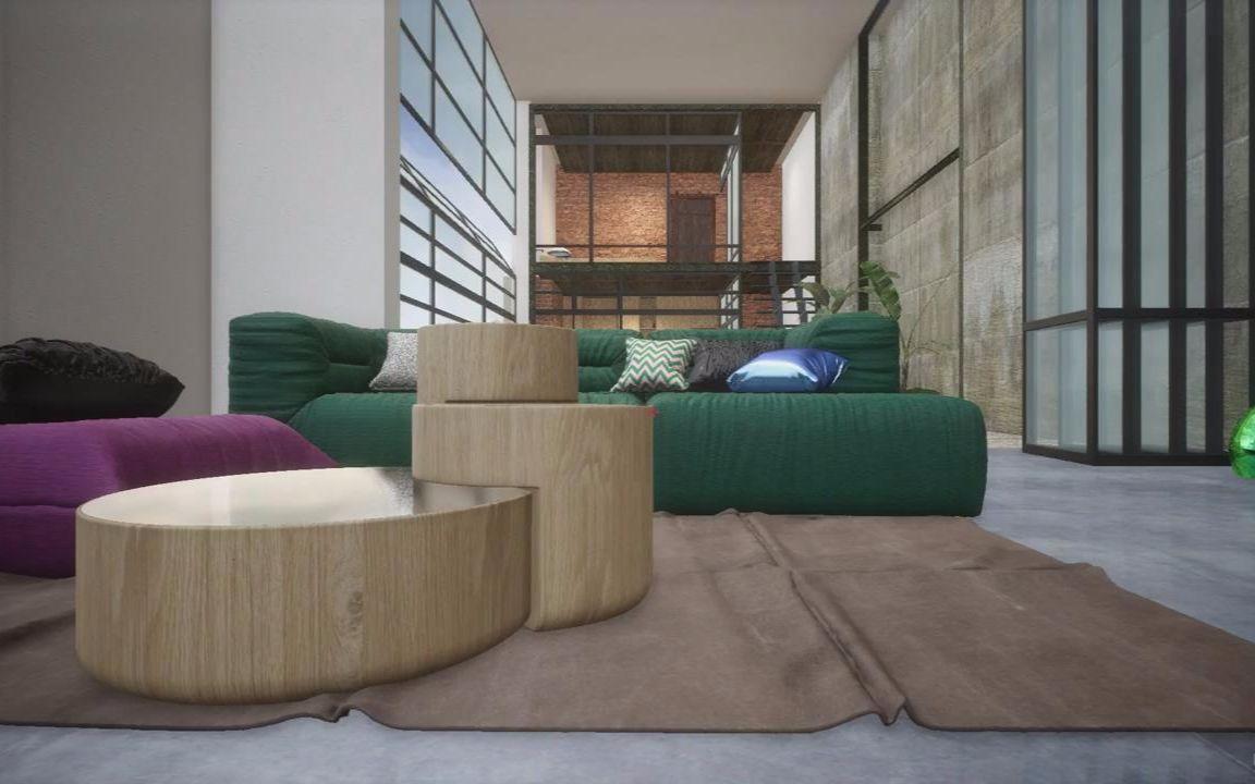 【ue4】vr虚拟现实室内场景实例制作图片