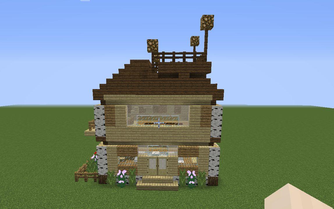 我的世界小建筑-二维码小房子图片