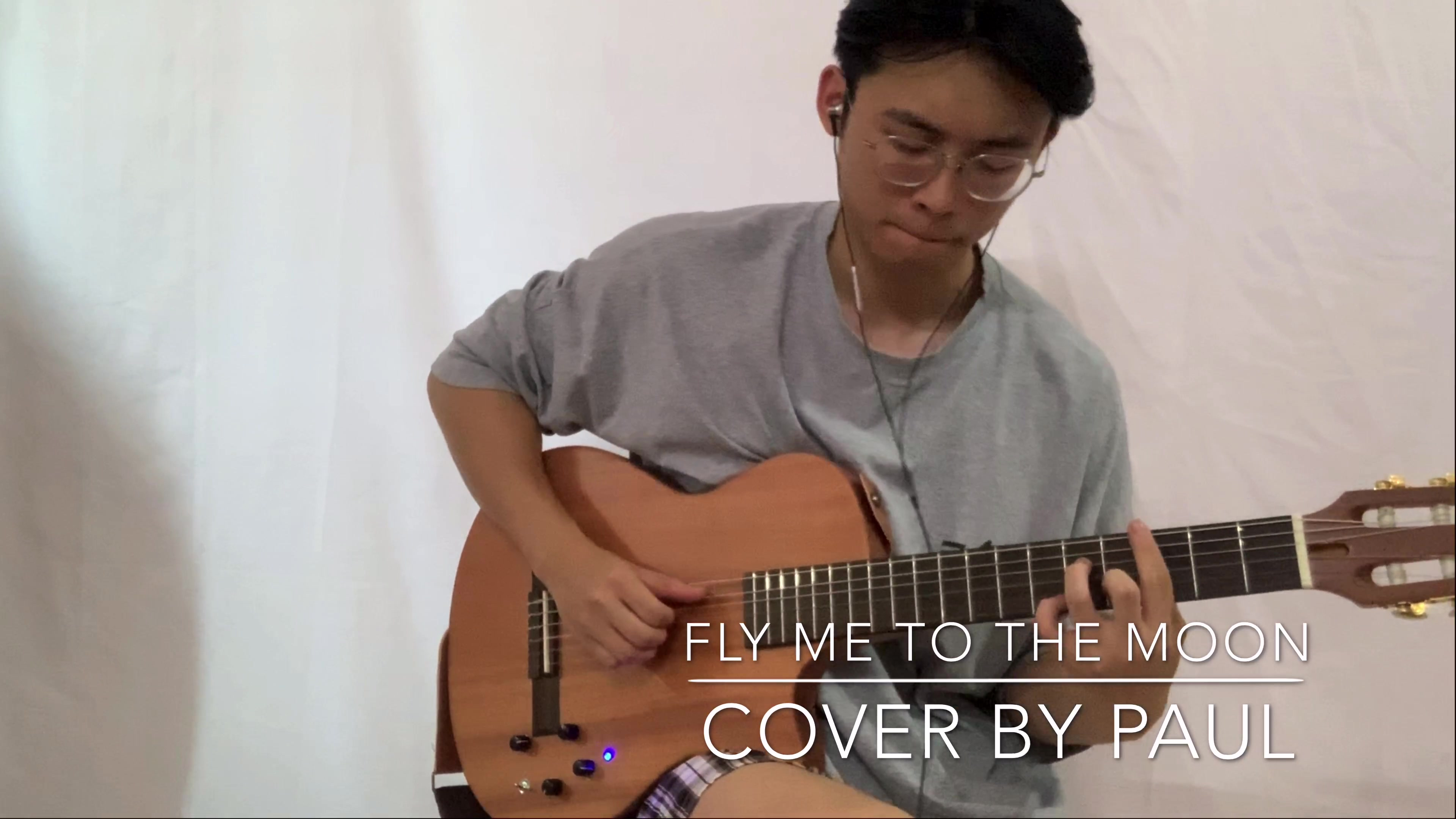 FLY ME TO THE MOON guitar cover