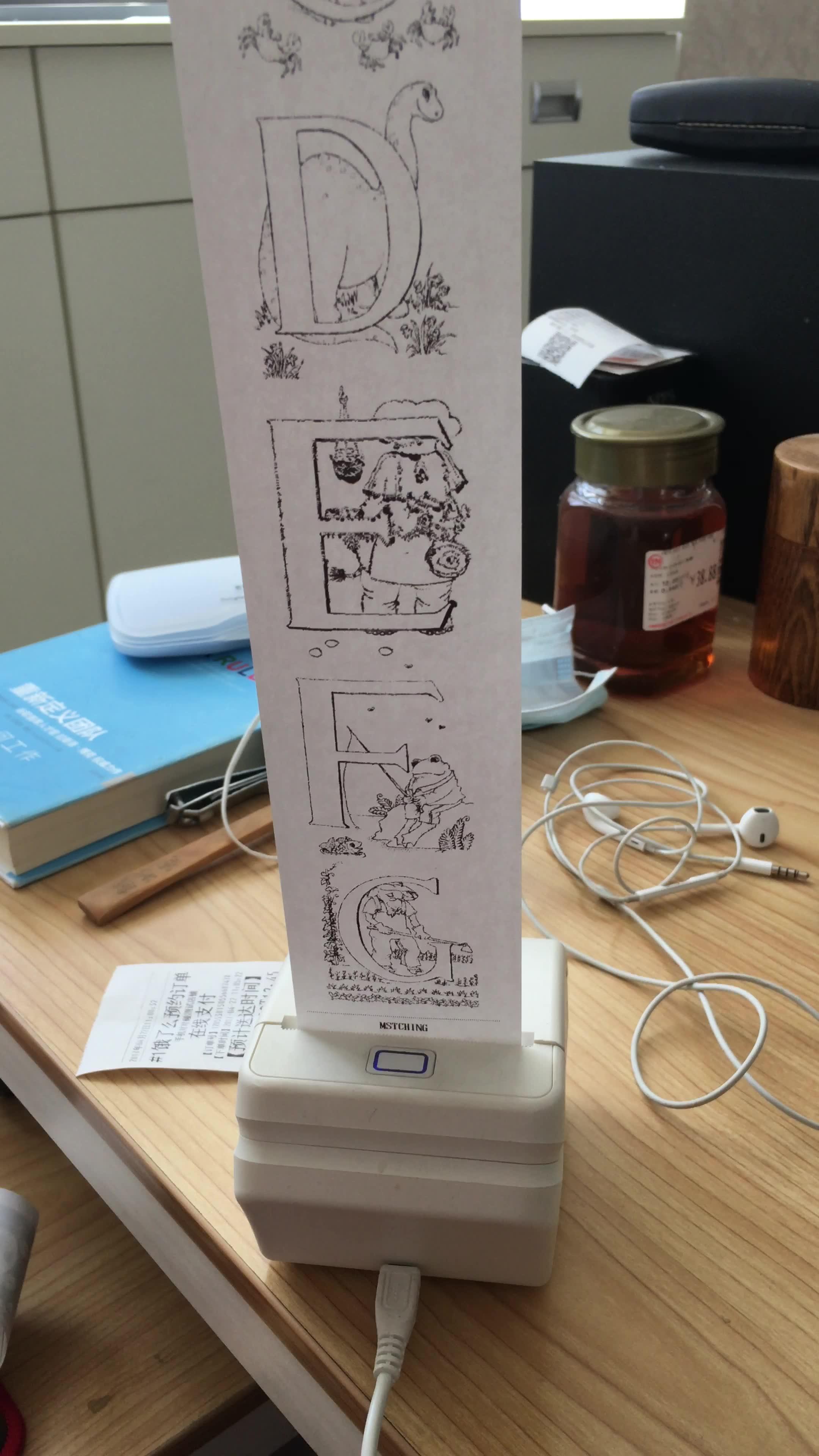 对对机初体验:文艺范便携热敏打印机趣味玩法(视频)