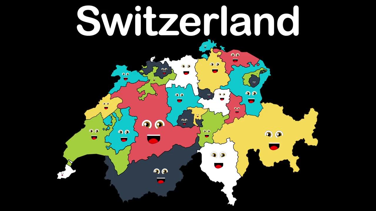 【科普】瑞士地理之歌图片