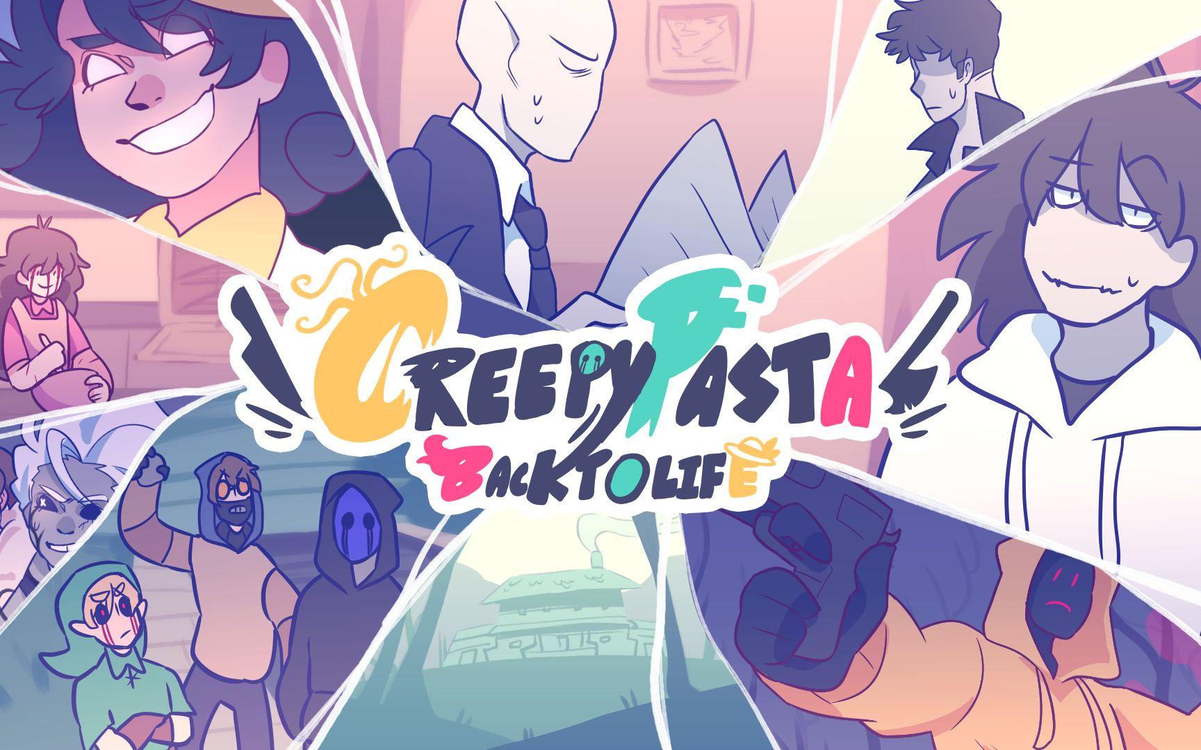CreepyPasta 起死回生 //動畫預告//CreepyPasta BackToLife//