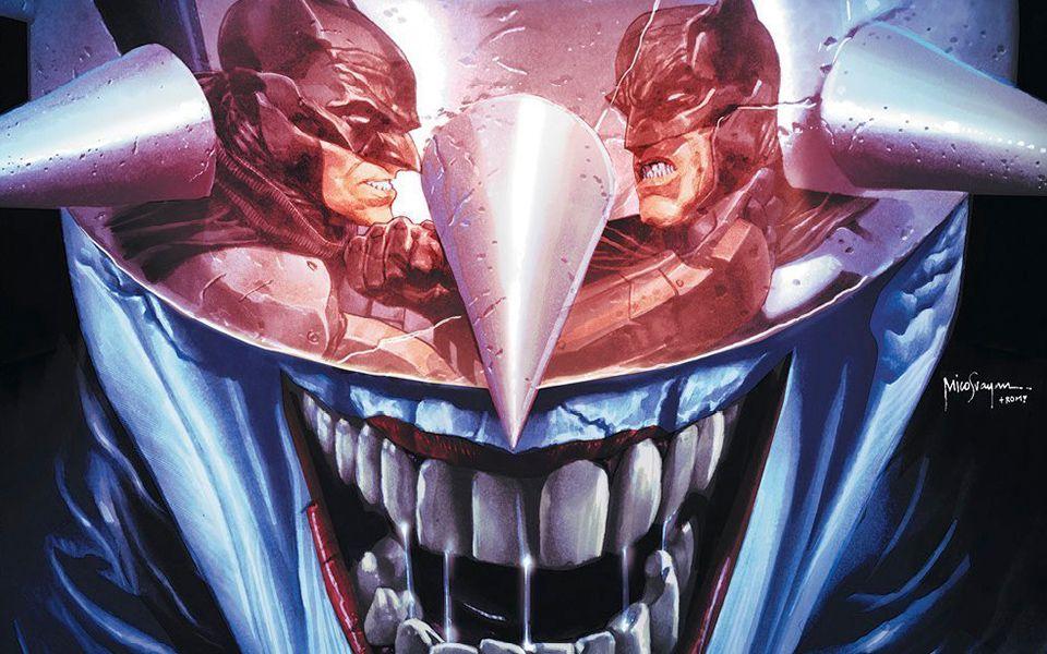 狂笑之蝠:三个蝙蝠侠竟然大打出手,结果...
