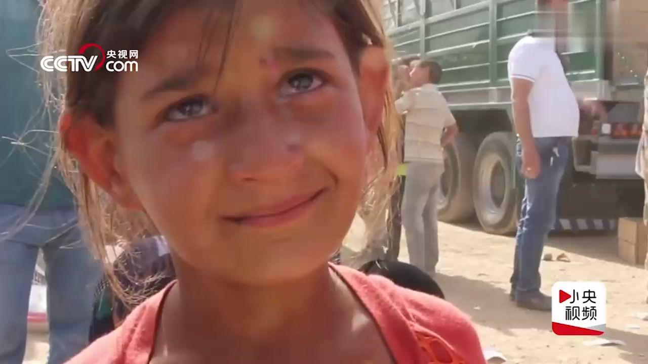 和平在哪里?有谁告诉活在伊拉克战火的孩子…
