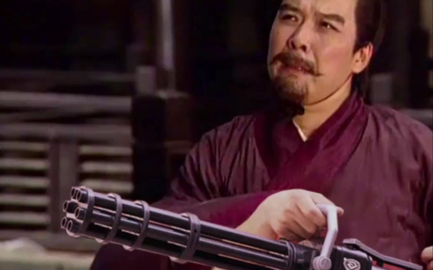 刘备为何拿起加特林