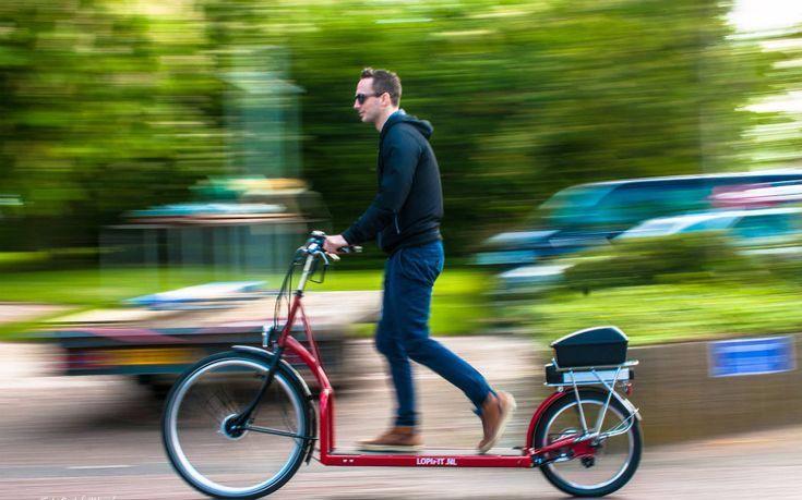 会走路的自行车