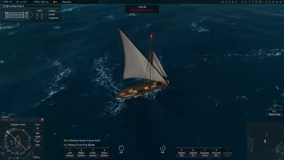 【naval action】海军行动 gunboat 炮艇