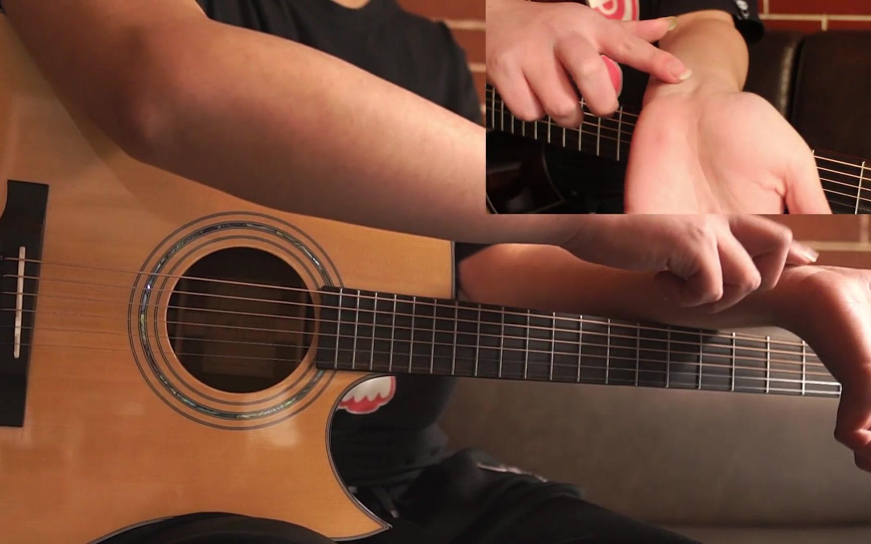 指弹吉他教学(二)——左手超级详细按弦要点与注意点