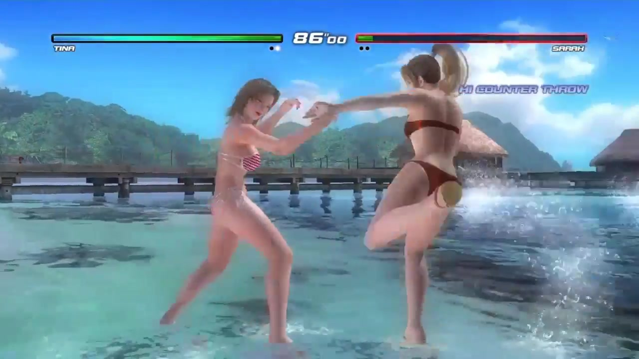 alive_dead or alive 5 last round リョナ sarah costume swims