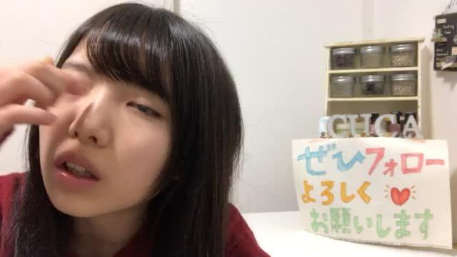 榊 美優(STU48)元36番 (2018年01月13日19時00分58秒) SHOWROOM