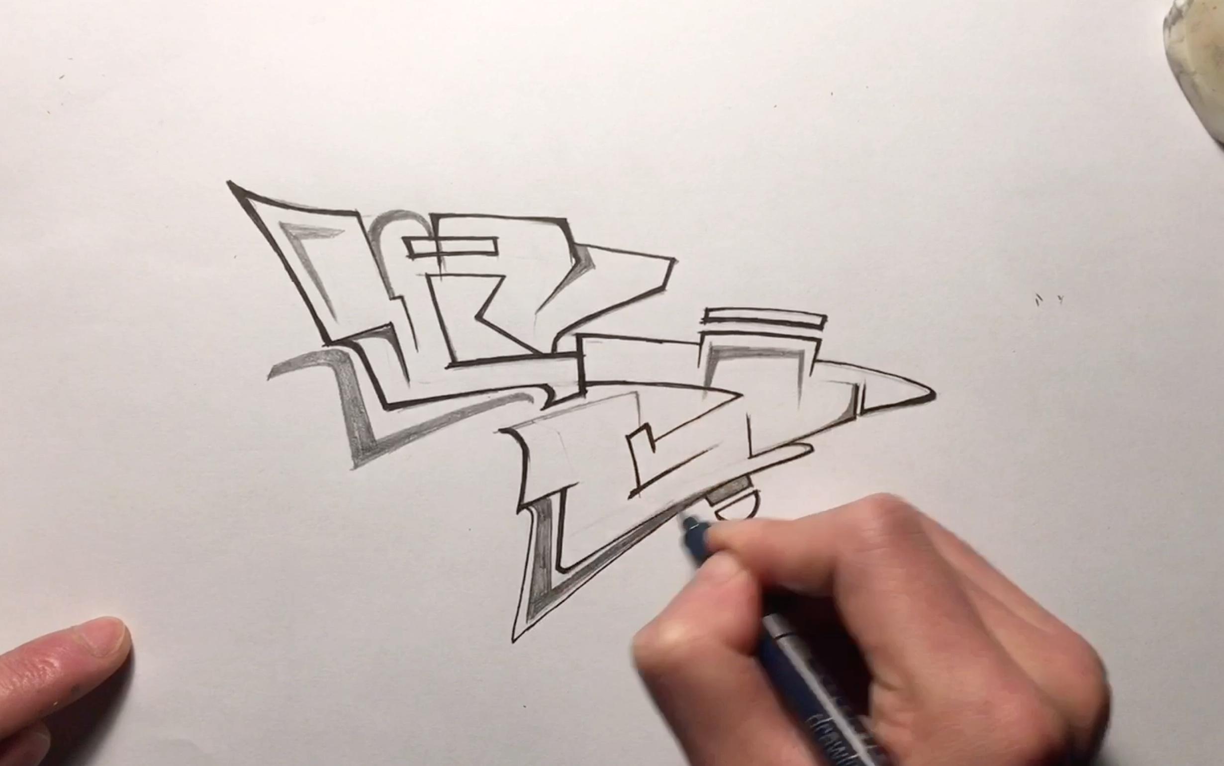 【涂鸦教学】如何把字变夸张,风格教学,新手向