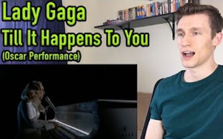 【BOBO中文字幕】国外小哥Dylan听Lady Gaga在奥斯卡表演Till it happens to you的反应   Dylan will not