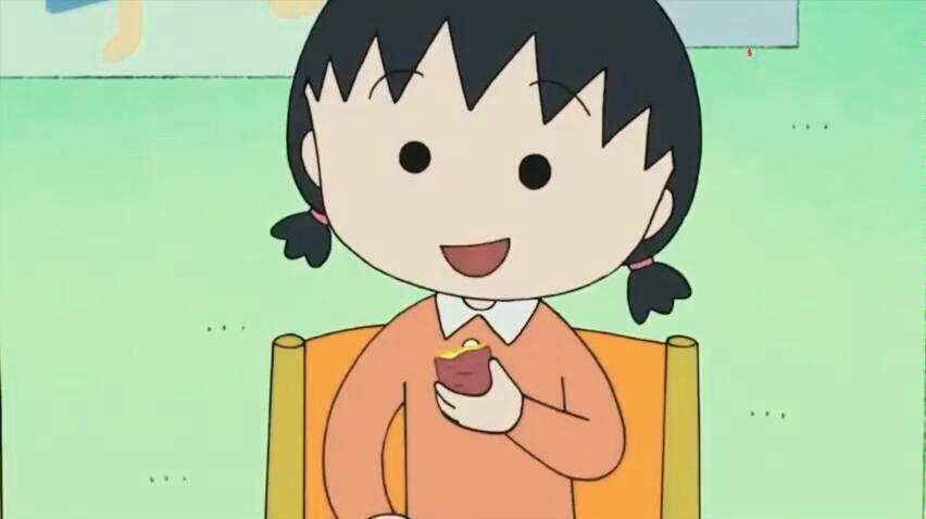 樱桃小丸子日语版:长胖的樱杏子,越来越像妈妈了!图片