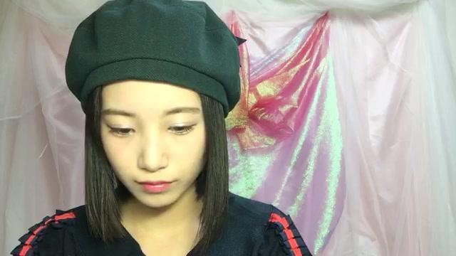 朝長 美桜(HKT48 チームKⅣ) (2018年01月08日23時10分44秒) SHOWROOM