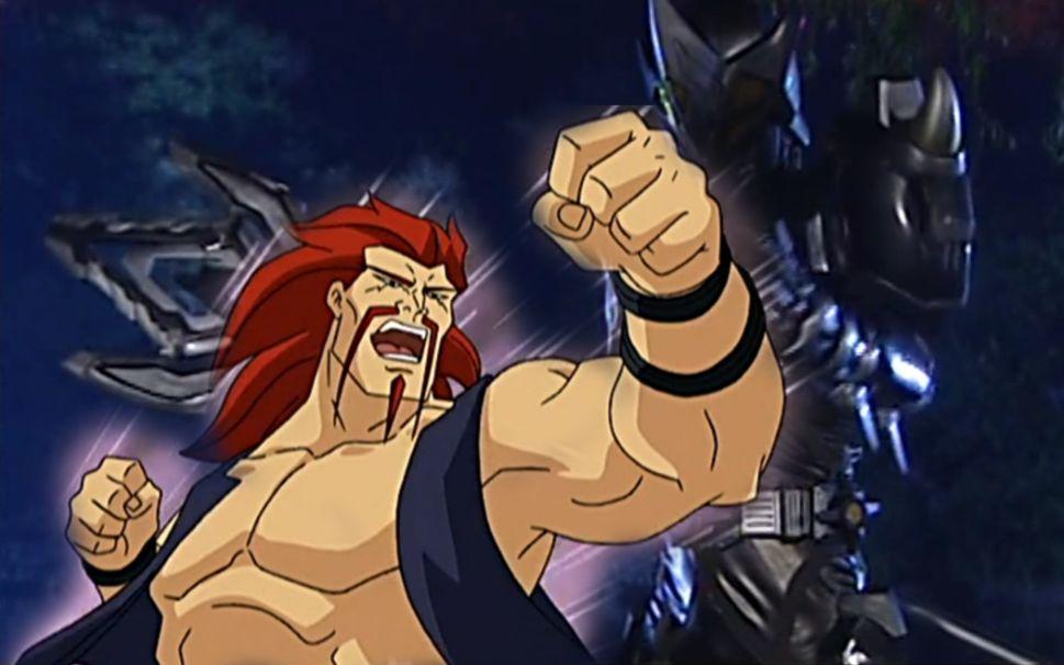 当铠甲勇士遇到黑虎阿福图片