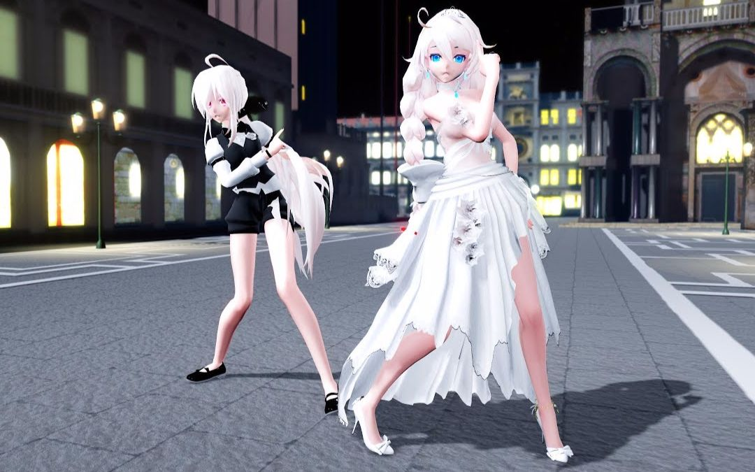 【C4D】让Haku跳一段桃花旗袍?