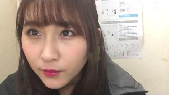 明石 奈津子(NMB48 チームBⅡ) (2018年01月08日13時47分05秒) SHOWROOM